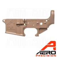 Aero Precision AR15 FDE Stripped Lower Receiver Gen 2 APAR501302C