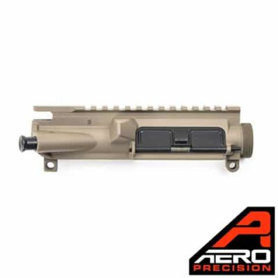 AR15 FDE Assembled Upper Receiver - Aero Precision