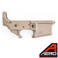 Aero Precision AR15 FDE Stripped STS Lower Receiver