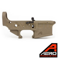 Aero Precision AR15 Ambidextrous FDE Lower Receiver