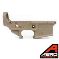 Aero Precision AR15 FDE Stripped Lower Receiver Gen 2