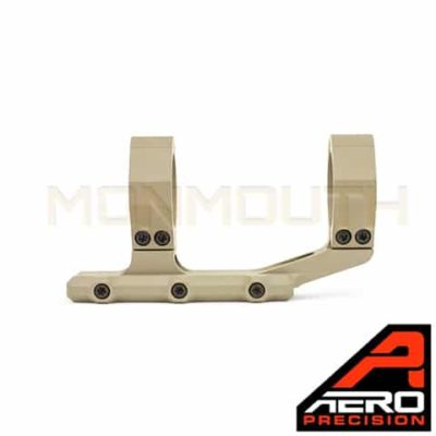 "Aero Precision 30mm Extended FDE Scope Mount Ultralight 34mm FDE Extended Scope Mount 1"" FDE Extended Scope Mount"