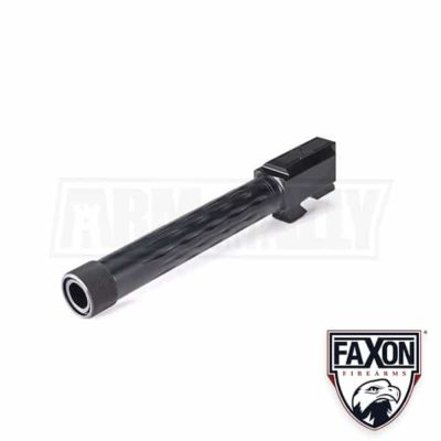 Faxon Firearms Glock 17 Threaded Flame Fluted Match Barrel