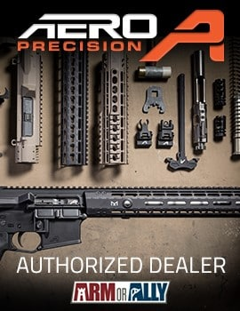 Aero Precision Authorized Dealer Arm or Ally