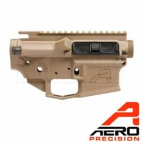 Aero Precision M4E1 FDE Threaded Receiver Set