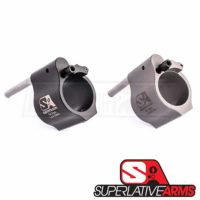 Superlative Arms Adjustable Gas Block - Set Screw Mount Bleed Off