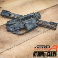 Aero Precision M4E1 Battleworn Woodland ATLAS S-ONE M-LOK Builders Set