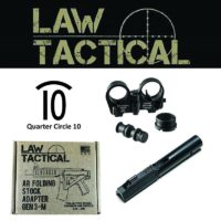 Quarter Circle 10 9mm Law tactical Bolt Carrier Group Kit