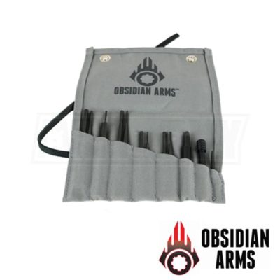 Obsidian Arms Complete AR15 Punch Set OA-APS-15-12