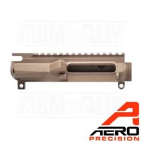 Aero Precision Stripped M4E1 Threaded Upper Receiver FDE APAR700202C