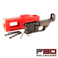 P80 AR10 Lower Receiver Kit